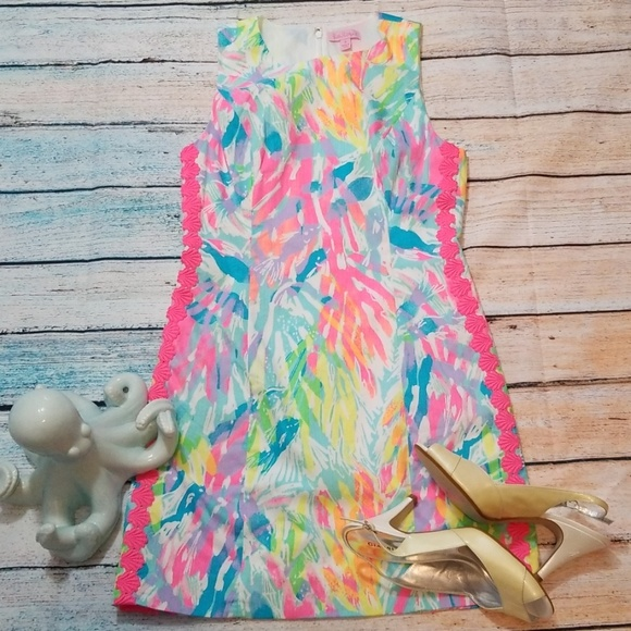 Lilly Pulitzer Dresses & Skirts - Lilly Pulitzer Mila Dress Sparkling Sands